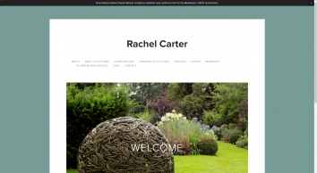 Rachel Carter Sculpture - Woven bronze Sculptures from wax originals