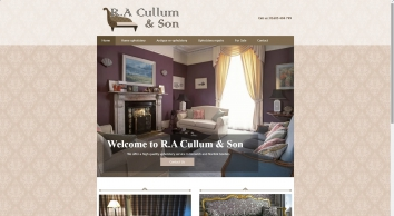 R.A Cullum & Son in Norwich provides a great upholstery service