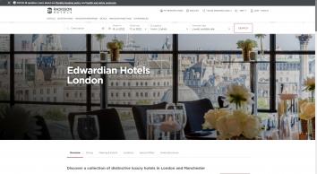 Raddison Blu Edwardian Grafton Hotel