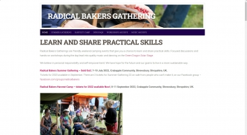 Practical Skills for Sustainable Living - Radical Bakers Gathering