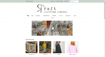 \'r a f t clothing company\' a unique & inspiring independent business. - Raft Clothing Company