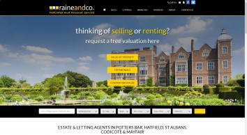 Raine and Co Estate Agents | Estate Agent & Letting Agent in Hatfield, Potters Bar & Stevenage