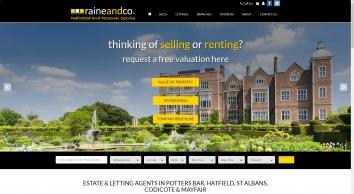 Raine and Co Estate Agents   Estate Agent & Letting Agent in Hatfield, Potters Bar & Stevenage
