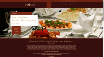 Indian Delivery In Bromley - Raj Moni
