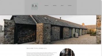 R A Rowe & Co Ltd Architectual Design