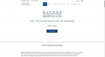 Roofing Contractors | Woking, Surrey – Raynes Roofing Ltd