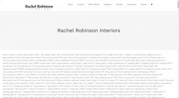 Rachel Robinson Interiors