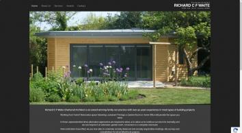 R C F Waite   Kings Lynn Norfolk Chartered Architect