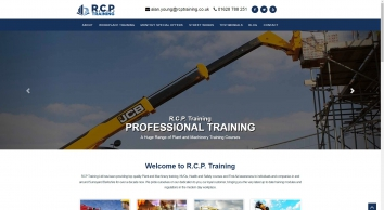 Plant and Machinery Training Courses - RCP Training