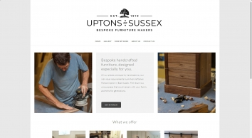 R D Upton Cabinet Maker, Bespoke Furniture Eastbourne
