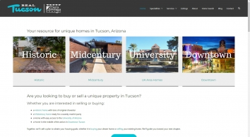 RealTucson.com | Historic homes | Mid Century Homes | Downtown Homes | Homes near UA