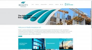Realty Insurances - Property developer insurance