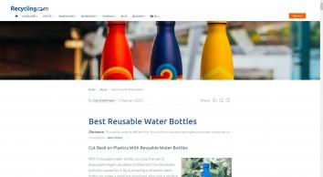 Reusable Water Bottles - Best Water Bottles for Home, School and Work