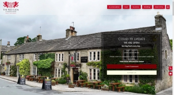 The Red Lion & Manor House, Burnsall - Home Page