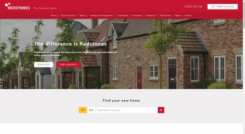 Redstones Property. Offices Throughout England