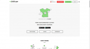 reGAIN app - Turn Your Unwanted Clothes into Discount Coupons