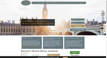 Regency House Hotel Near Gower Street London UK