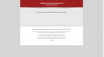 Reigate Heating & Plumbing Ltd
