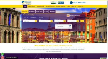 Cheap Flights: Book & Compare cheapest flights Deals with Reliance Travels UK