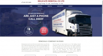 Homepage - Need a removal company in Essex? Try Relocate Removal