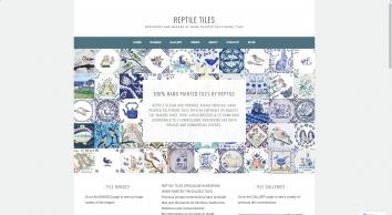 Reptile tiles  ceramics