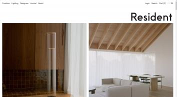 New Zealand Furniture & Lighting | Resident
