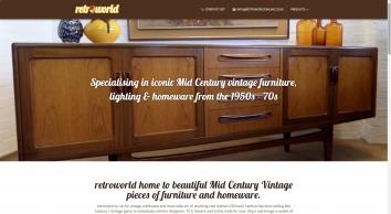 retroworld, Iconic vintage furniture, lighting, cocktail bars