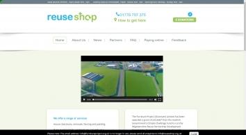 Reuse Shop - Furniture Project - Reuse - Stranraer - Charity