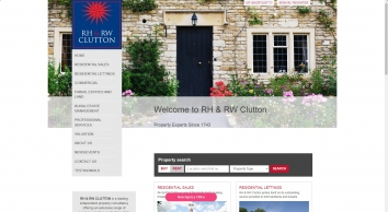 RH RW Clutton, East Grinstead