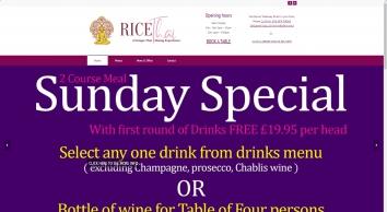 Authentic Thai Dining - Rice Thai Restaurant Bedford