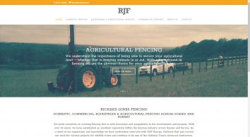 R J F & Sons Ltd Fencing Contractors