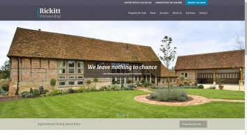Rickitt Partnership Estate and Letting Agents in Chester