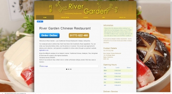 RIVER GARDEN Chinese Restaurant – Belper, Derbyshire DE56