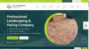 R & J Landscapes London Ltd