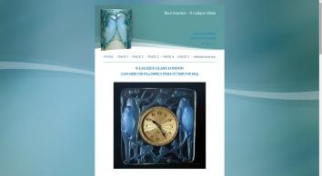 R Lalique Glass and R Lalique Glassware, London