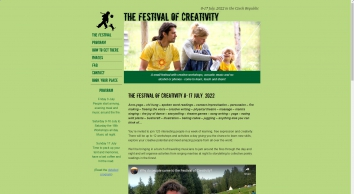 Festival of Creativity in the Czech Republic June 22 - July 2, 2018