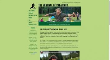 Festival of Creativity in the Czech Republic June 22 - July 2, 2018