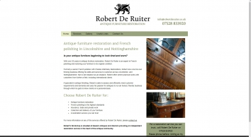 Robert De Ruiter Antique Furniture Restoration