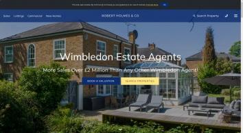 Robert Holmes Co, Wimbledon - Sales