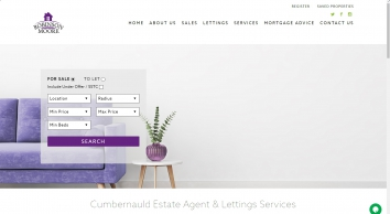 Houses for Sale Cumbernauld & Estate Agents