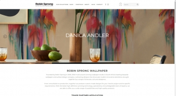 Robin Sprong Bespoke Wallpaper and Surface Design