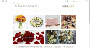 Flower Delivery Manchester | Designer Flowers by Rodgers