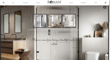 Roman Shower Enclosures and Accessories | A Lifetime of Luxury Showering Experiences
