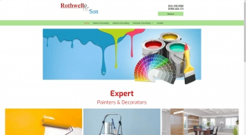 Hire the expert decorators from Rothwell & Son - Manchester