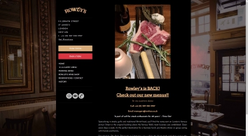 Rowley\'s Restaurants Ltd
