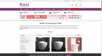 Contemporary Toilets | Buy contemporary toilets UK Online