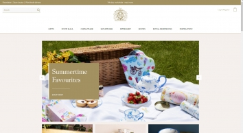 Luxury Gifts   Buy Official Royal Gifts from The Buckingham Palace Online Shop