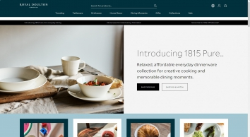 Royal Doulton® Tableware, Figurines & Gifts - Official UK Site  - Royal Doulton® UK