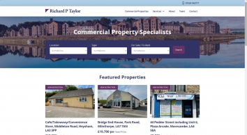 Richard P Taylor Limited Estate and Letting Agents in Lancaster
