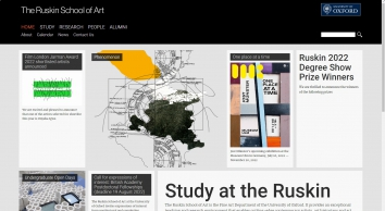 The Ruskin School Of Art Within Oxford University